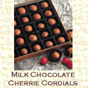Link to milk chocolate cherrie cordials page.