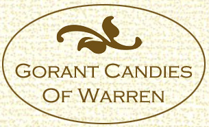 Gorant Candies of Warren logo.