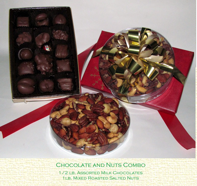 Chocolates and Nuts Combo