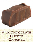 Milk chocolate butter caramel. Click on the add flavor button to add.