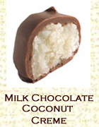 Milk chocolate coconut creme. Click on the add flavor button to add.