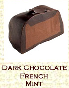 Dark chocolate french mint . Click on the add flavor button to add.