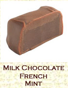 Milk chocolate french mint. Click on the add flavor button to add.