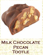 Milk chocolate pecan tootle. Click on the add flavor button to add.